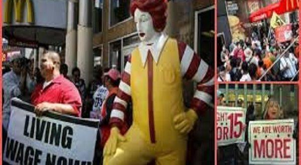 Giornata Mondiale lavoratori Fast Food
