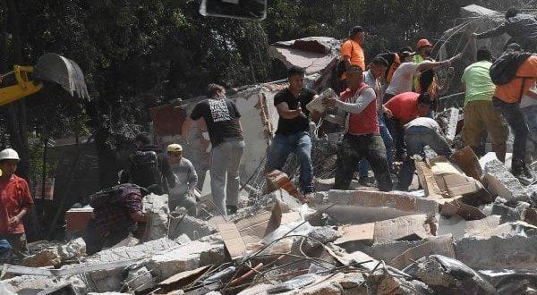 Sisma in Messico di magnitudo 7,1 della scala Richter: è un'ecatombe